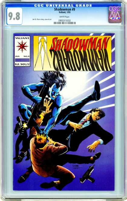 CGC Graded Comics - Shadowman #9 (CGC)
