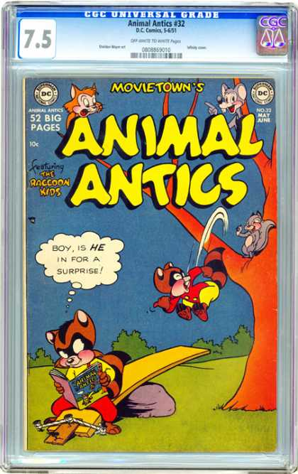 CGC Graded Comics - Animal Antics #32 (CGC)