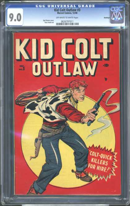 CGC Graded Comics - Kid Colt Outlaw #3 (CGC)