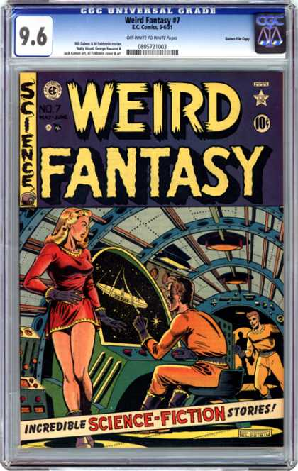 CGC Graded Comics - Weird Fantasy #7 (CGC)