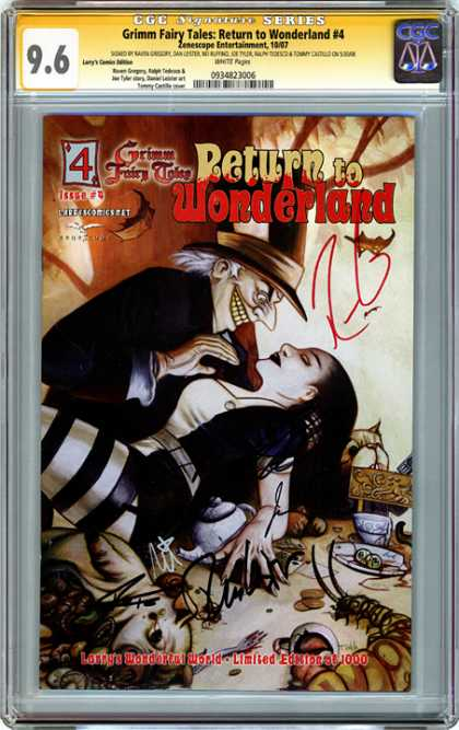 CGC Graded Comics - Grimm Fairy Tales: Return to Wonderland #4 (CGC)