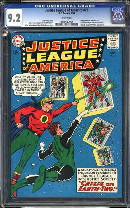CGC Graded Comics - Justice League of America #22 (CGC)