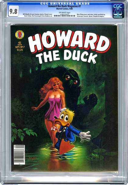 CGC Graded Comics - Howard the Duck Magazine #7 (CGC)