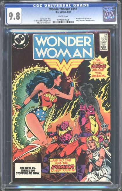CGC Graded Comics - Wonder Woman #318 (CGC)