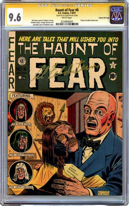 CGC Graded Comics - Haunt of Fear #8 (CGC)