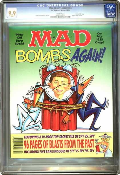 CGC Graded Comics - Mad Super Special #65 (CGC) - Mad - Bombs Again - Winter 1988 Super Special - Cheap - Dynammite