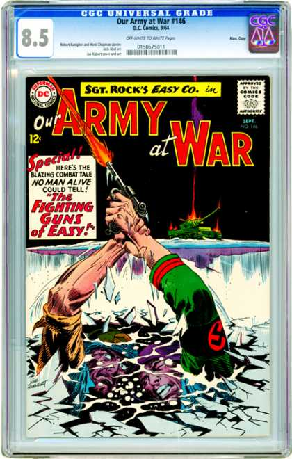 CGC Graded Comics - Our Army at War #146 (CGC)