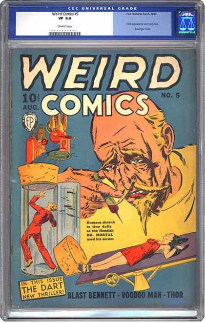 CGC Graded Comics - Weird Comics #5 (CGC)