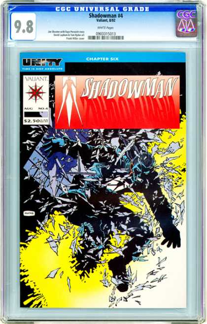 CGC Graded Comics - Shadowman #4 (CGC)