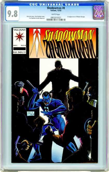 CGC Graded Comics - Shadowman #8 (CGC) - 8 - Universal - Shadowman - Valiant