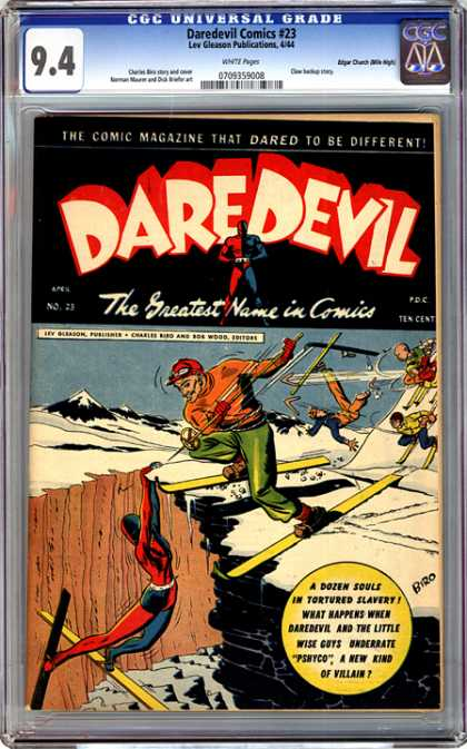 CGC Graded Comics - Daredevil Comics #23 (CGC)