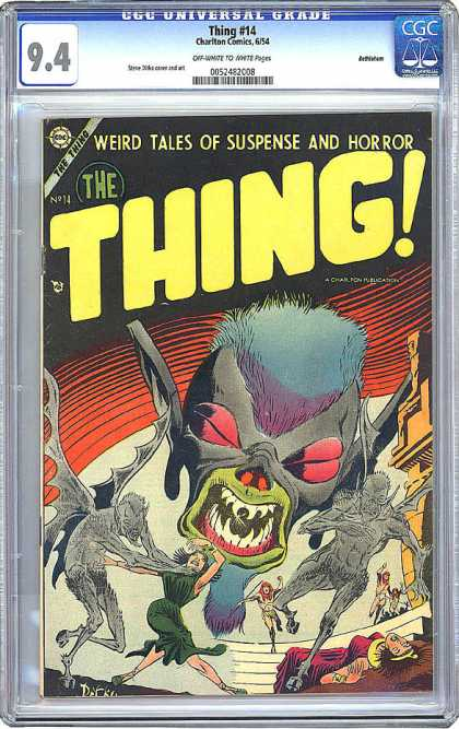 CGC Graded Comics - Thing #14 (CGC)