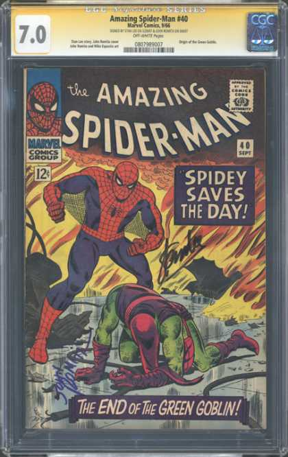CGC Graded Comics - Amazing Spider-Man #40 (CGC)