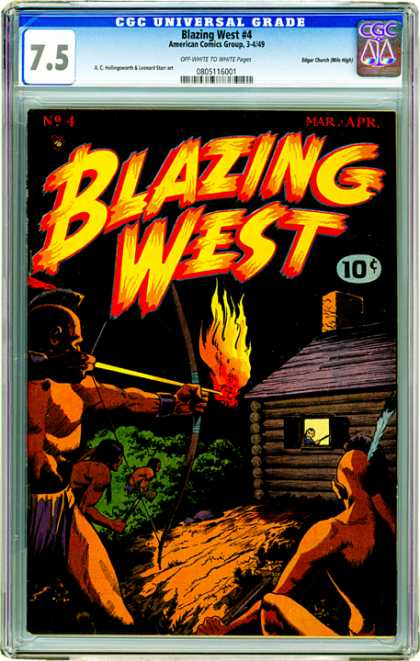 CGC Graded Comics - Blazing West #4 (CGC)
