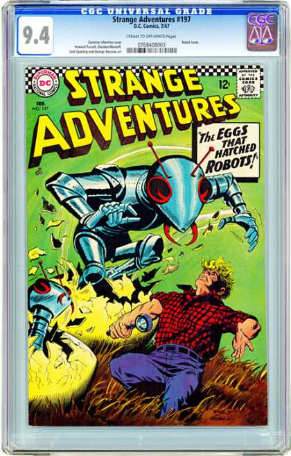 CGC Graded Comics - Strange Adventures #197 (CGC)