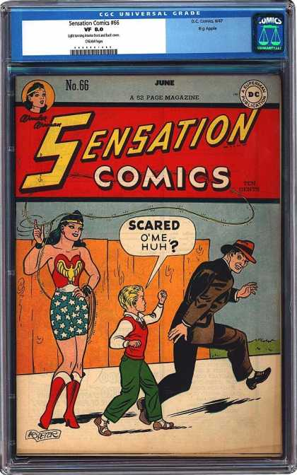 CGC Graded Comics - Sensation Comics #66 (CGC)