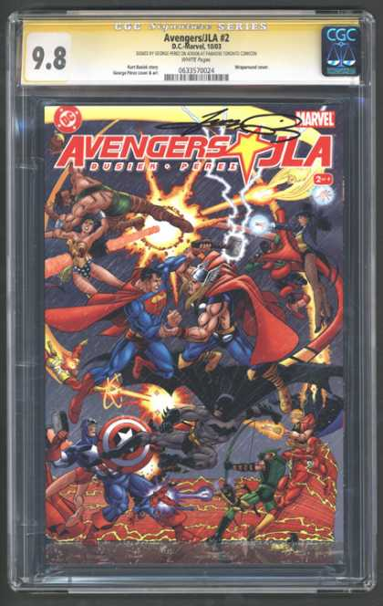 CGC Graded Comics - Avengers/JLA #2 (CGC)