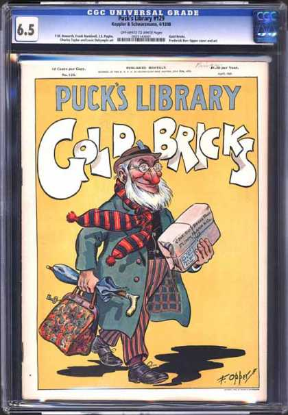 CGC Graded Comics - Puck's Library #129 (CGC)