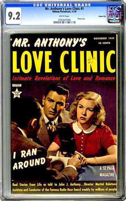 CGC Graded Comics - Mr. Anthony's Love Clinic #1 (CGC)