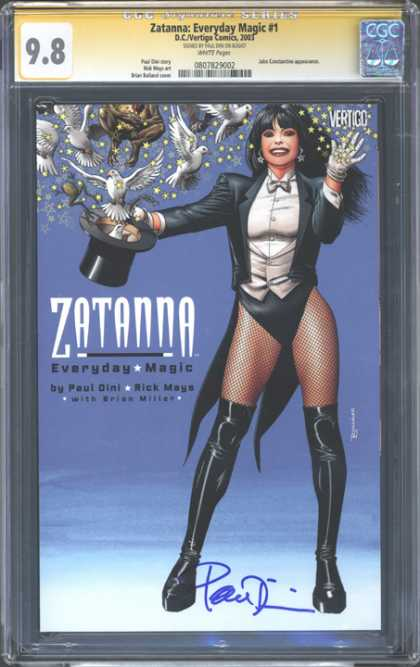 CGC Graded Comics - Zatanna: Everyday Magic #1 (CGC)