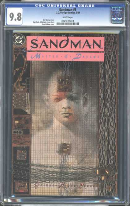 CGC Graded Comics - Sandman #5 (CGC) - Cgc - Sandman - Master Of Dreams - Dc - Comics