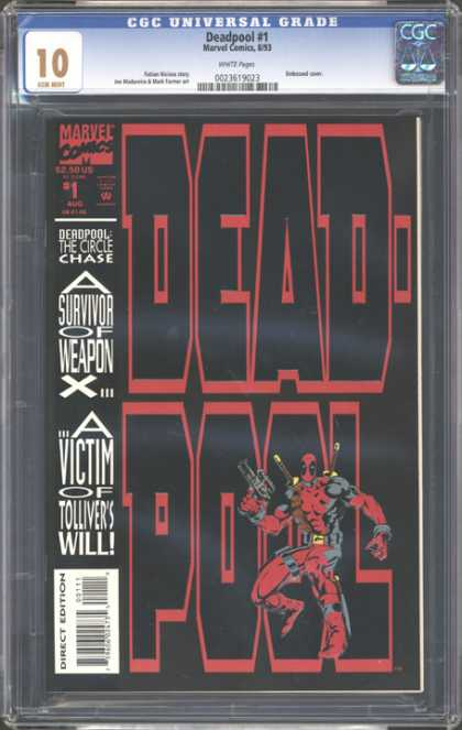 CGC Graded Comics - Deadpool #1 (CGC)