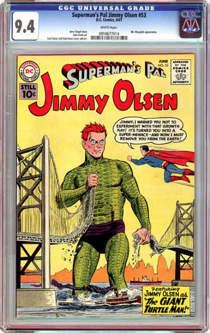 CGC Graded Comics - Superman's Pal Jimmy Olsen #53 (CGC)
