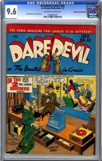 CGC Graded Comics - Daredevil Comics #43 (CGC)