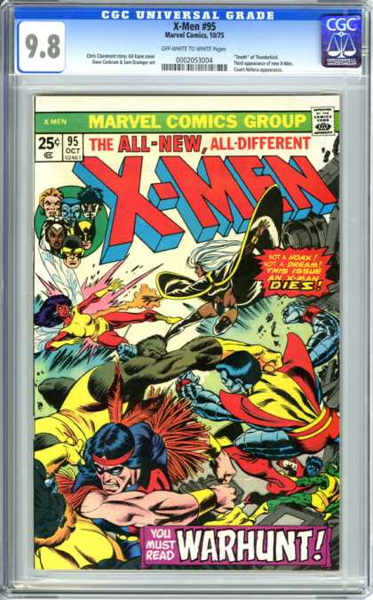 CGC Graded Comics - X-Men #95 (CGC)
