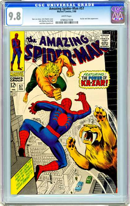 CGC Graded Comics - Amazing Spider-Man #57 (CGC)
