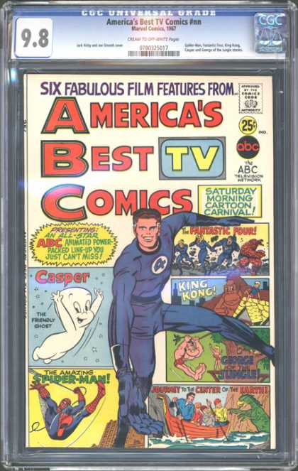 CGC Graded Comics - America's Best TV Comics #nn (CGC)