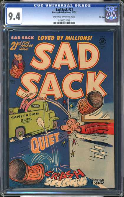 CGC Graded Comics - Sad Sack #21 (CGC)