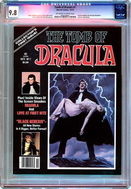 CGC Graded Comics - Tomb of Dracula #1 (CGC)