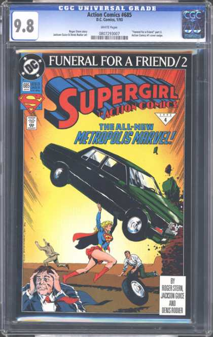 CGC Graded Comics - Action Comics #685 (CGC)