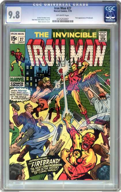 CGC Graded Comics - Iron Man #27 (CGC)