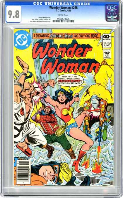 CGC Graded Comics - Wonder Woman #268 (CGC)