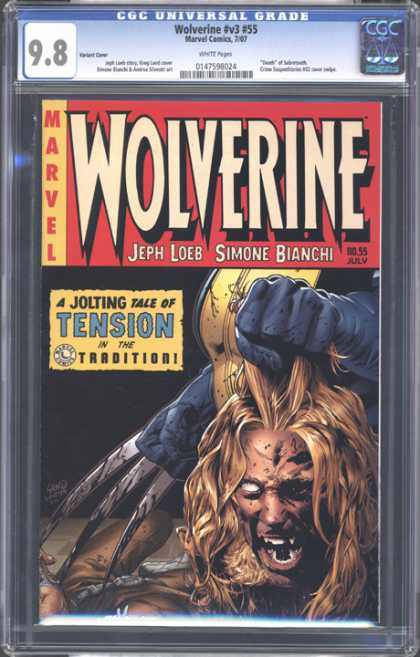 CGC Graded Comics - Wolverine #v3 #55 (CGC)