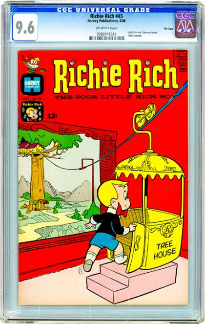CGC Graded Comics - Richie Rich #45 (CGC)