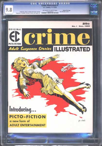 CGC Graded Comics - Crime Illustrated #1 (CGC)