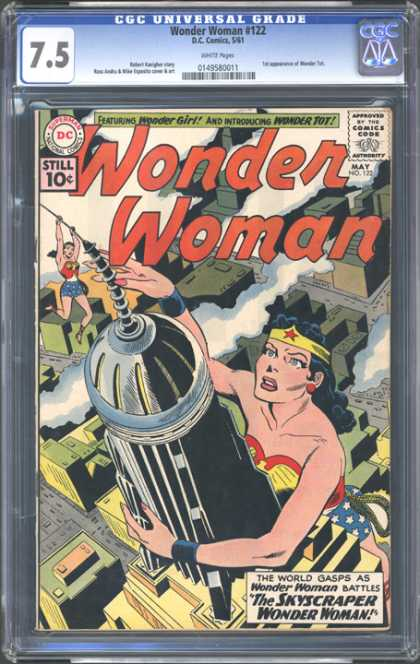 CGC Graded Comics - Wonder Woman #122 (CGC)
