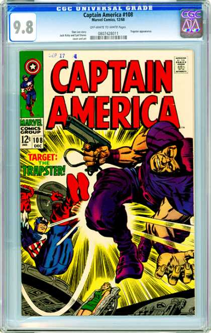 CGC Graded Comics - Captain America #108 (CGC)