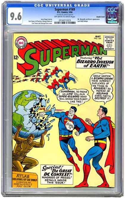 CGC Graded Comics - Superman #169 (CGC)