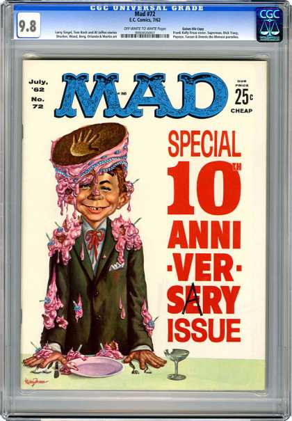 CGC Graded Comics - Mad #72 (CGC)