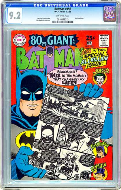 CGC Graded Comics - Batman #198 (CGC)
