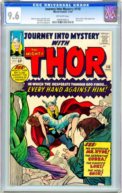 CGC Graded Comics - Journey Into Mystery #110 (CGC)