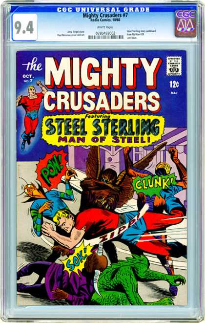 CGC Graded Comics - Mighty Crusaders #7 (CGC)