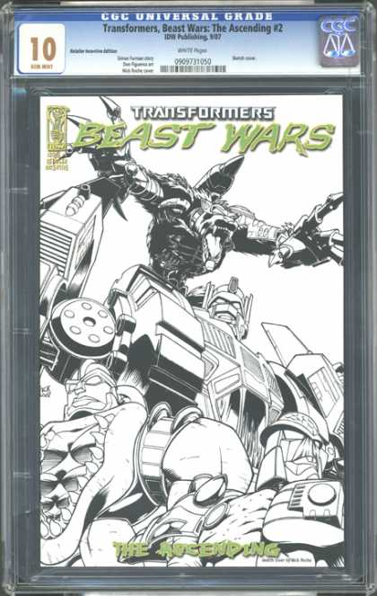 CGC Graded Comics - Transformers, Beast Wars: The Ascending #2 (CGC)