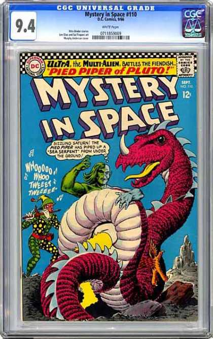 CGC Graded Comics - Mystery in Space #110 (CGC)