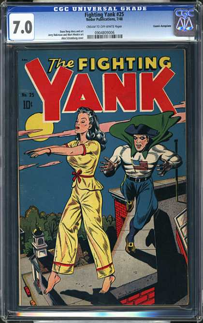 CGC Graded Comics - Fighting Yank #25 (CGC)