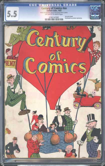 CGC Graded Comics - Century of Comics #nn (CGC)